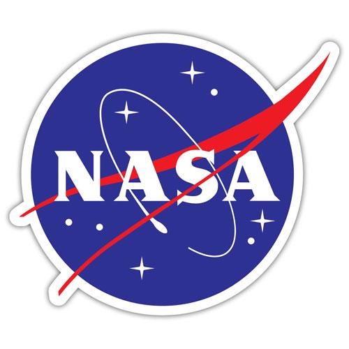 Nasa Logo Layered Vinyl Sticker / Decal
